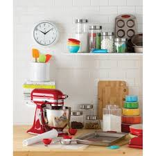 Glass Canister Sets For Kitchen by Wayfair Basics Wayfair Basics 4 Piece Round Top Glass