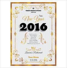 13 new year menu templates u2013 free psd eps illustrator pdf