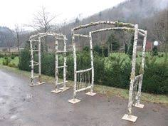 wedding arches to build crafted rustic birchwood arbor diy wedding arbors and birch