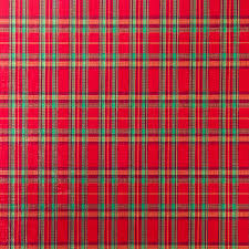 christmas plaid wrapping paper embossed plaid roll wrap