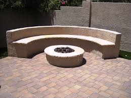Firepit Bench by How To Build Fire Pit Designs