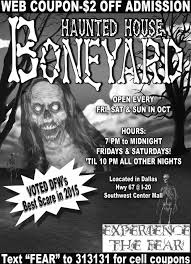 coupon for halloween horror nights dallas haunted houses coupon