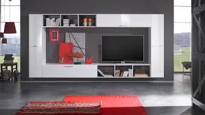 moderne wohnwand hochglanz wohnwand weis hangend gros hochglanz wohnwande online kaufen