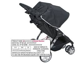 notice siege auto baby go 7 safety notice b agile bob motion strollers