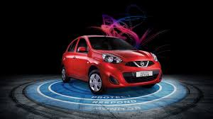 nissan micra yellow warning light features