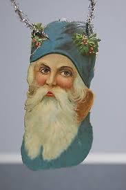 1026 best vintage ornaments santas images on
