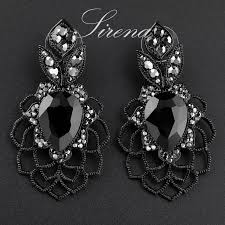 Black And Silver Chandelier Earrings Compare Prices On Big Chandelier Earrings Online Shopping Buy Low