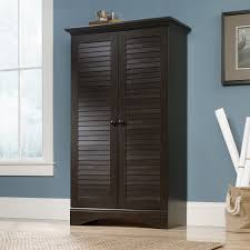 Harbor View Computer Desk With Hutch by Sauder Harbor View Storage Cabinet Multiple Colors Walmart Com