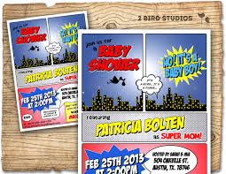 ideas for a coed baby shower superhero baby shower invitation superhero invitation boy