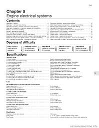 ford sierra 1985 1 g engine electrical systems workshop manual