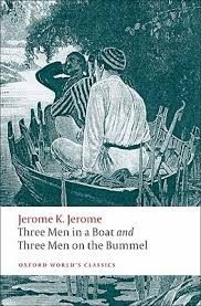 three men in a boat and three men on the bummel by jerome k jerome