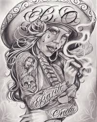 gangsta tattoo images u0026 designs
