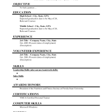 resume c part time resume sle exle template c mdxar