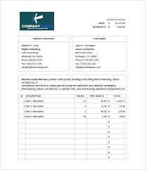 bid estimate template blank estimate template 23 free word pdf excel google sheets