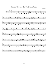 rockin u0027 around the christmas tree sheet music rockin u0027 around the