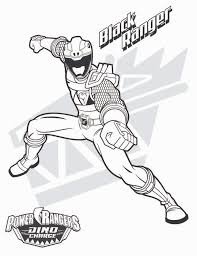 power ranger coloring pages black ranger coloringstar