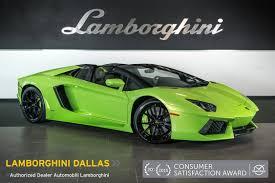 2015 Lamborghini Aventador - 2015 lamborghini aventador lp 700 4 roadster verde ithaca lc364