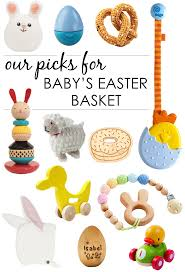 baby easter basket what to put in baby s easter basket project nursery