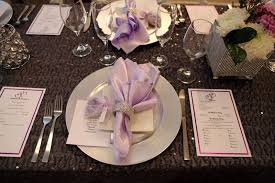 Purple Table L Beautiful Wedding Table Settings Photos Styles Ideas