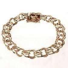 gold chain charm bracelet images 14k gold charm bracelet ebay jpg