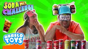 Challenge Mix Soda Challenge Mix The Challenge Of Disgusting Soda In Mix Soda