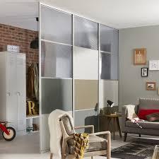 porte chambre leroy merlin structure pour cloison amovible effet aluminium leroy merlin avec