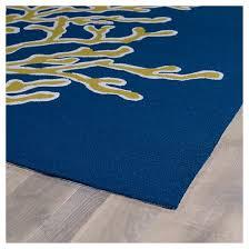 Indoor Outdoor Area Rugs Kaleen Rugs Matira Coral Indoor Outdoor Area Rug Blue 2 U0027x3 U0027 Target