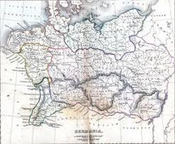 germania map germania
