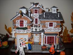 miniature halloween village in my prime time october 2015