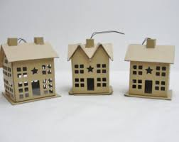 house ornaments etsy