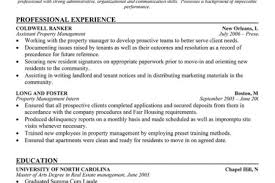 Sample Resume For Property Manager by Property Manager Resume Sample 1307 Property Management Resume