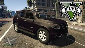 chevrolet trailblazer 2015 gta v chevrolet trailblazer 2015 youtube