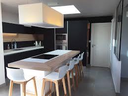 cuisine design luxe best cuisine noir mat et bois contemporary matkin info matkin info