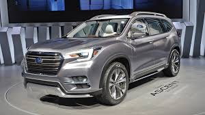 subaru viziv 7 new subaru ascent concept 7 seater suv set to conquer us market