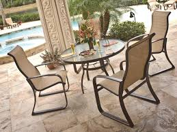 Patio Furniture Placement Ideas by Gallery Of Amusing Aluminum Sling Patio Chairs On Inspiration