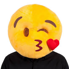 emoji mask plush emoji icons mask fancy dress