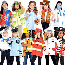 kids costume fancy dress book day week occupation childs