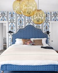 Blue And White Bedroom Wallpaper Make Your Bedroom Gorgeous With Wallpaper The Room Edit