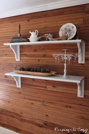 keeping it cozy living room shelves