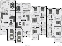 Duplex Home Plans Floor Plan Blaxland Floorplan New Home Builders Sydney