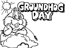 groundhog coloring pages funycoloring