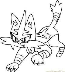 coloring pages pokemon sun and moon torracat pokemon sun and moon coloring page free pokémon sun and