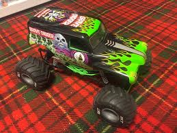 the first grave digger monster truck axial smt 10 grave digger monster truck add your receiver and go