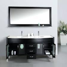 double bathroom vanity narrow depth sink dimensions white marble
