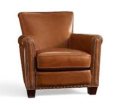 Brown Leather Chair With Ottoman Sofa Pretty Leather Chairs Espresso Brown Wingback Leather Chair