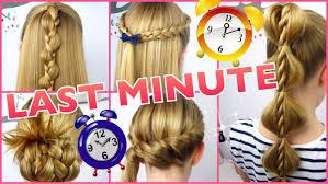 Sch E Frisuren Zum Selber Machen In 5 Minuten by 5 X 3 Minuten Frisuren Last Minute Coole Frisuren Auf Die