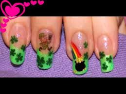 nail design st patrick u0027s day migi nail art pen home made