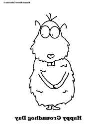 printable groundhog coloring pages coloring pages kids