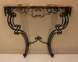 Wall Tables Furniture Stylish Wrought Iron Console Table Ideas Wrought Iron