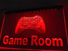 online shop lk984 game room console led neon light sign home